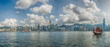 Isla de Hong-Kong Fotografía de archivo libre de regalías