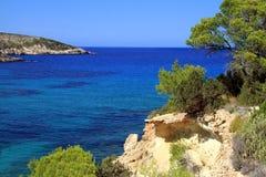 Isla de Ibiza Imágenes de archivo libres de regalías