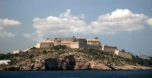 Isla de Ibiza Foto de archivo libre de regalías