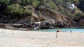 Isla de Ibiza, Islas Baleares, España Foto de archivo libre de regalías