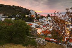 Isla de Ikaria Fotografía de archivo