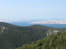 Isla de Istria Foto de archivo libre de regalías