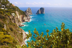 Isla de Italia Capri Imagen de archivo libre de regalías