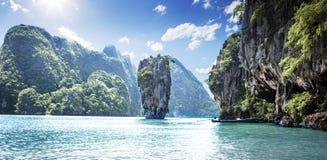 Isla de James Bond Foto de archivo libre de regalías