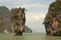 Isla de James Bond. Tailandia. Imágenes de archivo libres de regalías
