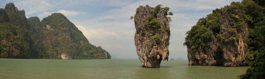 Isla de James Bond. Tailandia. Fotos de archivo libres de regalías