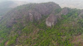 Isla de Jawa del paisaje de la monta?a, Indonesia metrajes