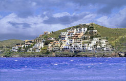 Isla de Kea en Grecia Foto de archivo libre de regalías