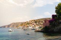 Isla de Kefalonia, Grecia Imagenes de archivo