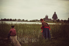 Isla de Kizhi Imágenes de archivo libres de regalías