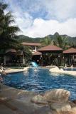 Isla de Ko chang de la piscina - Tailandia Foto de archivo