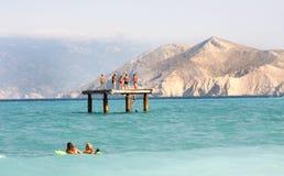 Isla de KRK - Croacia Fotos de archivo