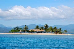 Isla de la cabaña Imágenes de archivo libres de regalías
