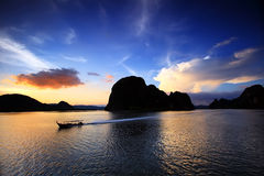 Isla de la Cacerola-Yee, Tailandia Foto de archivo libre de regalías