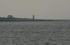 Isla de la casa ligera Imágenes de archivo libres de regalías