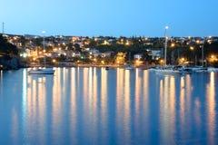 Isla de la ciudad de Krk de Krk Croacia Imagenes de archivo