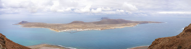 Isla de la Graciosa Immagine Stock