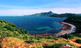 Isla de la hierba en Hong-Kong Imagenes de archivo
