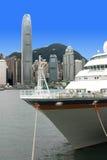 Isla de la nave y de Hong-Kong Imagenes de archivo