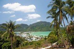 Isla de la phi de la phi de Ko en Tailandia Fotos de archivo