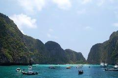 Isla de la phi de la phi, Krabi, Tailandia Imagen de archivo