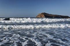 Isla de la playa y de Theodore Foto de archivo libre de regalías