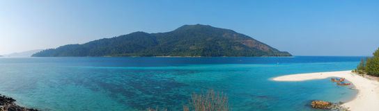 Isla de Lipe de Tailandia Foto de archivo
