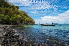 Isla de Lipe en Tailandia meridional Imágenes de archivo libres de regalías