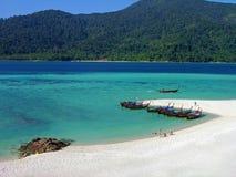 Isla de Lipe, mar de Andaman, Tailandia Foto de archivo libre de regalías