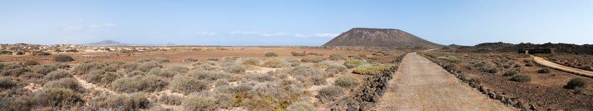 Isla de Lobos, Fuerteventura, Canarias, España Foto de archivo