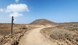Isla de Lobos, Fuerteventura, Canarias, España Imagen de archivo libre de regalías