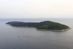 Isla de Lokrum Imágenes de archivo libres de regalías