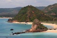 Isla de Lombok (Indonesia) Imagen de archivo libre de regalías