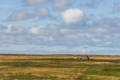 Isla de los paisajes de Lewis, Escocia Foto de archivo libre de regalías