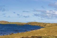 Isla de los paisajes de Lewis, Escocia Fotos de archivo