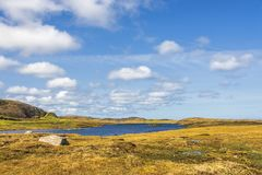 Isla de los paisajes de Lewis, Escocia Fotografía de archivo libre de regalías