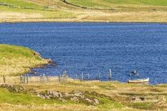 Isla de los paisajes de Lewis, Escocia Imágenes de archivo libres de regalías
