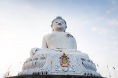 Isla de mármol grande de Phuket de la estatua de Buda, Tailandia Fotografía de archivo libre de regalías