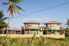 Isla de maíz de North End de la arquitectura Nicaragua Fotografía de archivo
