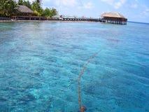 Isla de Maafushivaru - Maldivas fotografía de archivo