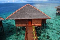 Isla de Mabul Foto de archivo libre de regalías