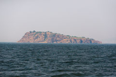 Isla de madera del palillo Imagen de archivo