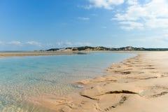 Isla de Magaruque - Mozambique Imagen de archivo libre de regalías