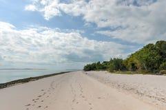 Isla de Magaruque - Mozambique Foto de archivo libre de regalías