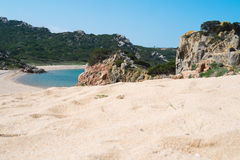 Isla de Magdalena del La, Cerdeña, Italia imagen de archivo