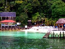 Isla de Malasia Payar - Langkawi Imagen de archivo
