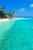Isla de Maldives Fotografía de archivo libre de regalías