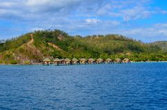 Isla de Malolo, Mamanucas, Fiji imagen de archivo