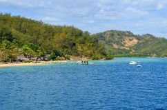 Isla de Malolo, Mamanucas, Fiji fotos de archivo libres de regalías