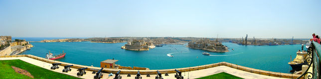 Isla de Malta Imágenes de archivo libres de regalías